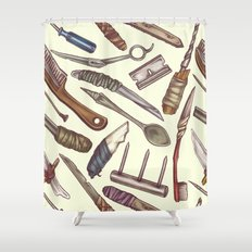 Shanks & Shivs Shower Curtain