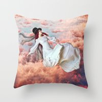 The Free Fall Of Hypnago… Throw Pillow