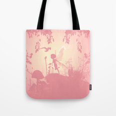Fairy Silhouette Tote Bag