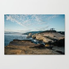 Rugged Pacific City Canvas Print