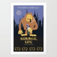 Nagmamahal, Kapre (Phili… Art Print