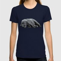 Sweet Dreams Ursus Arctu… Womens Fitted Tee Navy SMALL