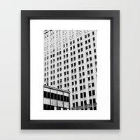 URBAN ABSTRACT 3 Framed Art Print