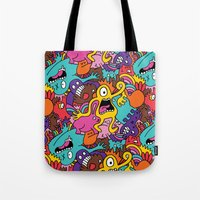 More Monsters, More Patterns Tote Bag