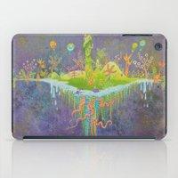 Aeolus 's flying island iPad Case