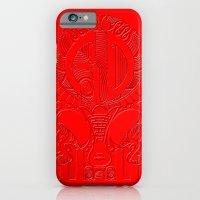 Roller derby polynesian iPhone 6 Slim Case