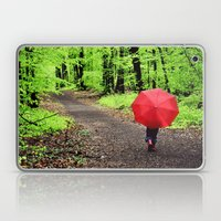 Rainy Woods Laptop & iPad Skin