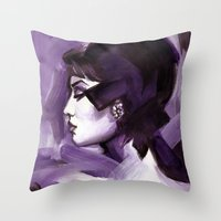Lilas Throw Pillow