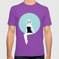 Girl #5 Mens Fitted Tee Ultraviolet SMALL