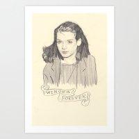 Winona Forever Art Print