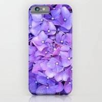 hydrangeas iPhone 6 Slim Case