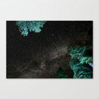 Lake Tahoe Milky Way Canvas Print