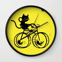 Slaved Mouses Wall Clock