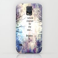Galaxy S5 Cases featuring Natural Cleanser by Jessielee