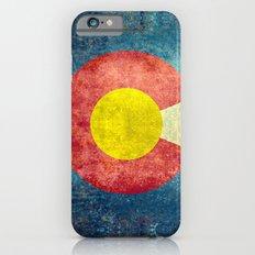 Colorado State Flag Slim Case iPhone 6s