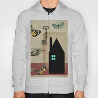 The House With The Turquoise Light On No.2 Hoody