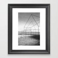 Retour Framed Art Print