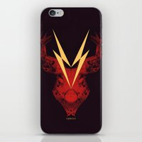 Cervus (Lightning Bolt V… iPhone & iPod Skin