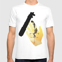 Cool Hand Luke Mens Fitted Tee White SMALL