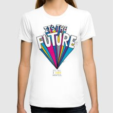 The Future Womens Fitted Tee White SMALL