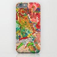 iPhone & iPod Case featuring Gemini, The Wonderful Twins: May 22 - Jun 21 / ORIGINAL GOUACHE by Zhou