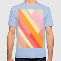 Color Story - Sprinkles Mens Fitted Tee Tri-Blue SMALL
