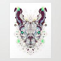 Electro Lam Art Print