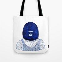 Blue Jack Tote Bag