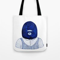 Blue Jack Tote Bag