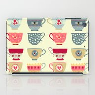 Tea Cups iPad Case