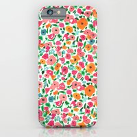 iPhone & iPod Case featuring Watercolor Floral by Bouffants and Broken Hearts