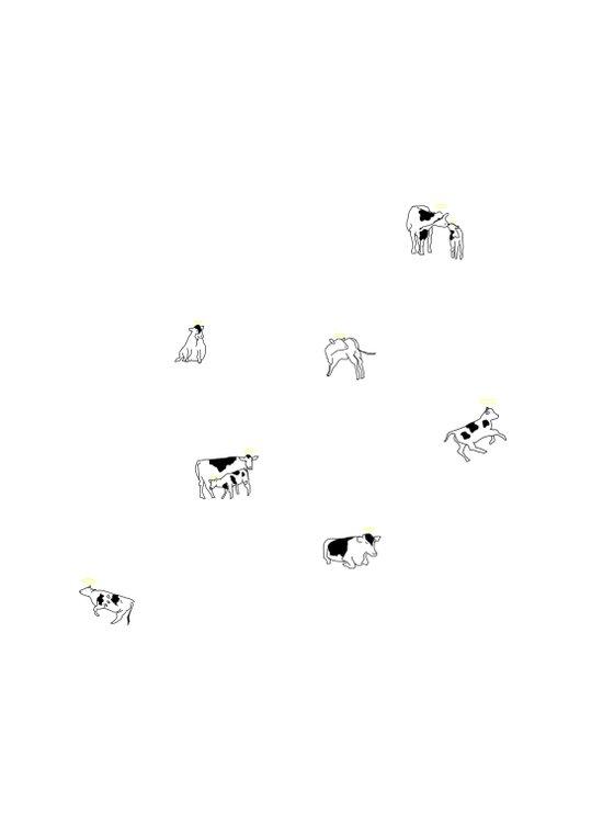 Holy Cows Art Print