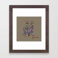 Westminister Framed Art Print
