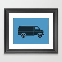 KITT Van Framed Art Print