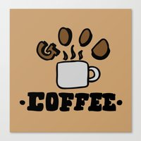good coffee Canvas Print