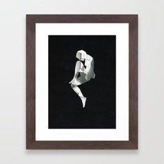 The alignment Framed Art Print