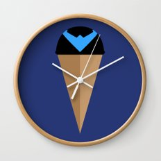 Neapolitan Nightwing Wall Clock
