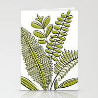 Fern Study Stationery Cards