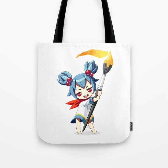 Painter Tote Bag