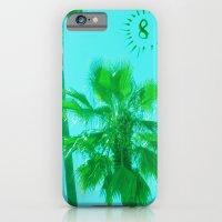 palm tree number 8 iPhone 6 Slim Case