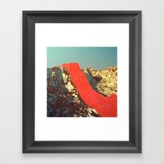 Day 0116 /// MELT_ash Framed Art Print