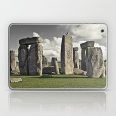 moon henge... Laptop & iPad Skin