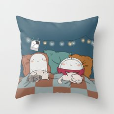 Time To Sleep Throw Pillow