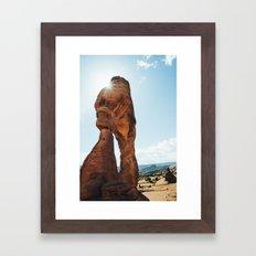 Incredible Scenery Framed Art Print