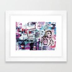 Cheap Date Framed Art Print