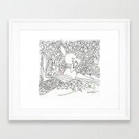 Lobito Framed Art Print