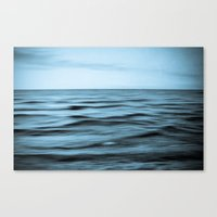 About The Sea I Canvas Print