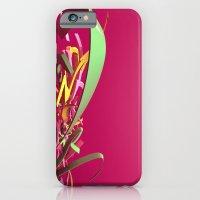 3d graffiti - Rush iPhone 6 Slim Case