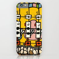 VIDEO CHICKENBOT INSPECTORS and the GOLDEN EGG MERRY-GO-ROUND iPhone 6 Slim Case