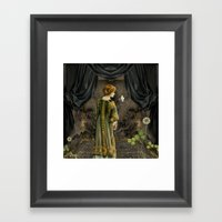 Beauty Queen Framed Art Print